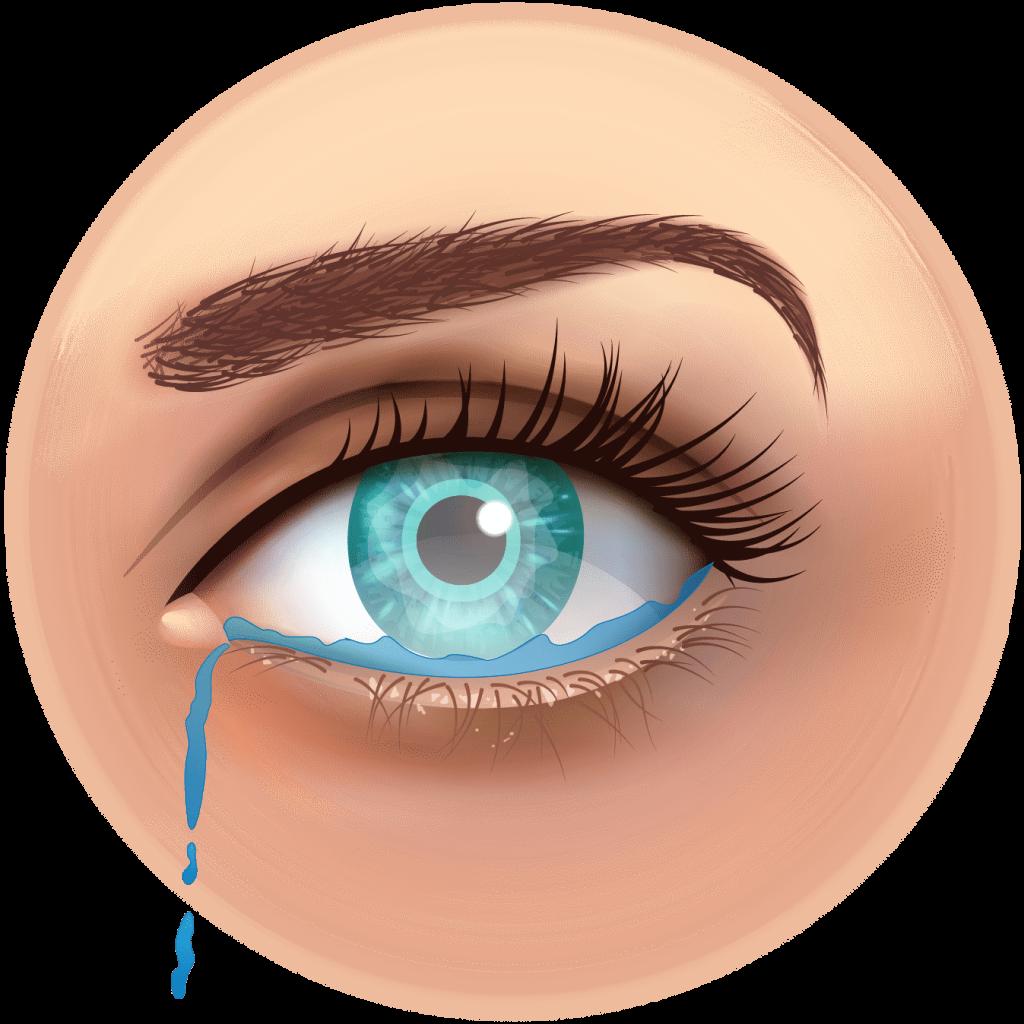 Le rôle des larmes pour la vision